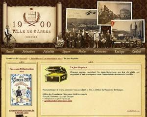 Ganges 1900 - Le jeu de piste