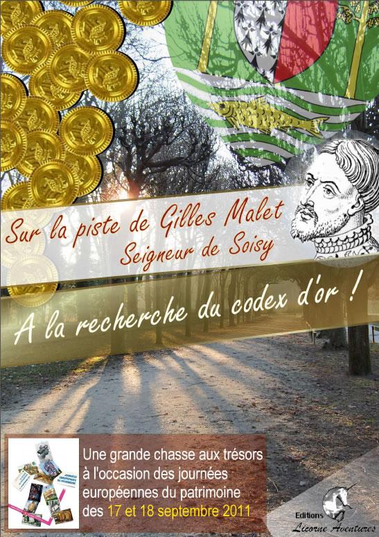 Soisy sur Seine - A la recherche du Codex d'Or