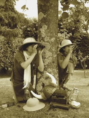 A la recherche du trésor enfoui Mélanie de Lusignan et Ida Pfeiffer