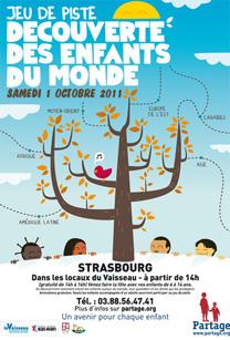 Strasbourg - Decouverte des Enfants du Monde