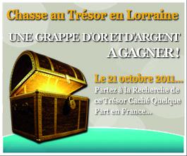 Chasse au trésor en Lorraine : la chasse au Trésor de la Porte des Vignes