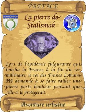 La Pierre de Stalismak - Parchemin