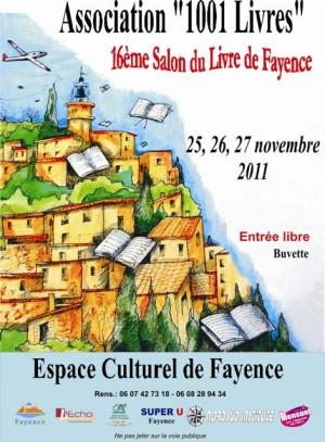 Salon du Livre de Fayence