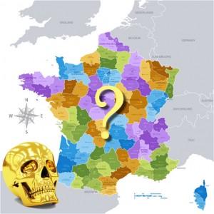 Localisation du Crâne d'Or - Les 12 énigmes de Dalmas