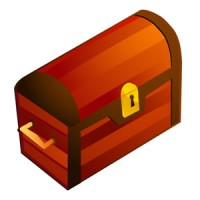 Coffre au trésor - Icone
