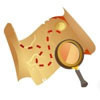 Plan du trésor - Icone