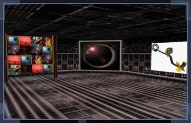 Chasse au trésor dans un monde virtuel