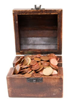 Coffret pièces d'or
