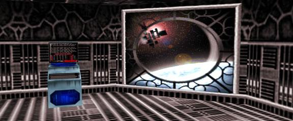 Entrée dans un monde virtuel