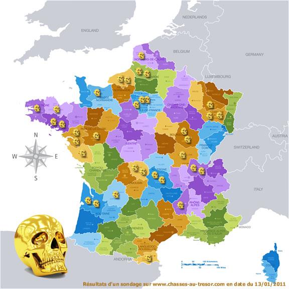 Les 12 énigmes de Dalmas - Trouver le Crâne d'Or