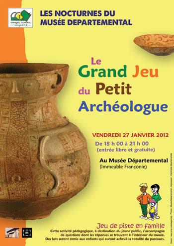 Le Grand Jeu du Petit Archéologue