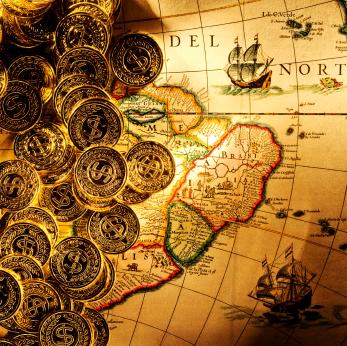 Carte Ancienne Trésor