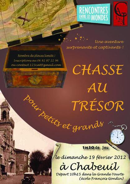 Chabeuil Chasse au trésor