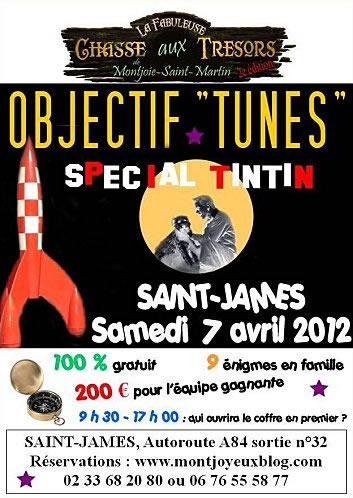 Chasse aux tresors sur le thème de Tintin – Saint James – Montjoie Saint Martin
