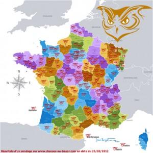 Chouette d'or en France