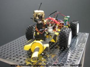 Robot détecteurs de métaux