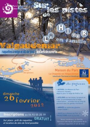 Sur les piste de l'hiver - Parc National des Ecrins