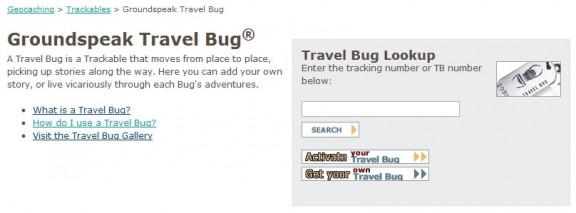 Geocaching Travel Bug