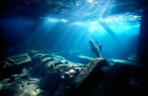 Epave sous marine