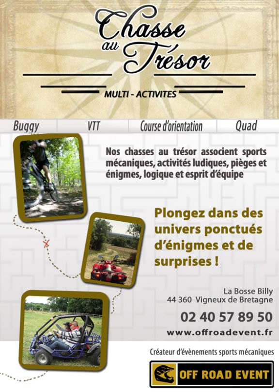Off Road Event - Chasses au trésor