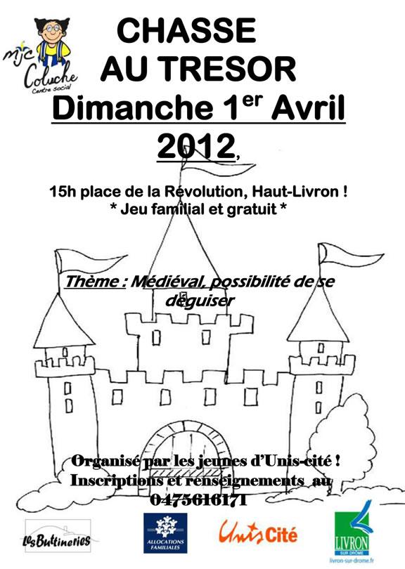 Chasse au trésor médiévale dans la Drôme