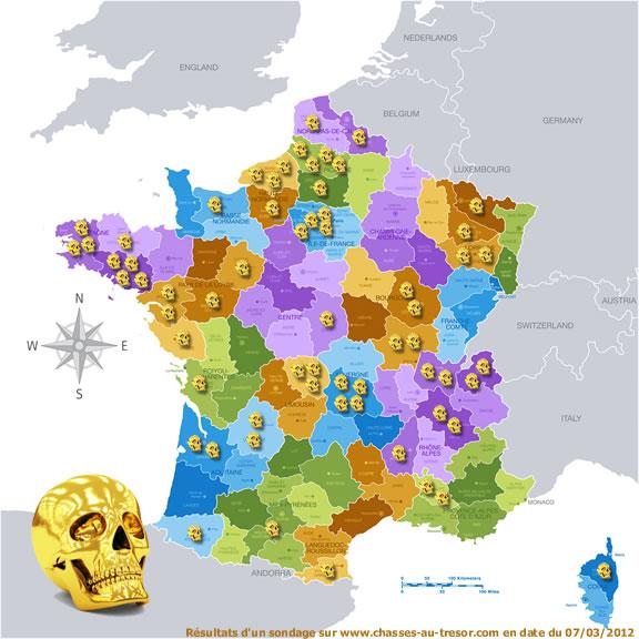 Morbihan, Puy-de-Dôme, Somme... Où est le Crâne d'Or de Dalmas ?