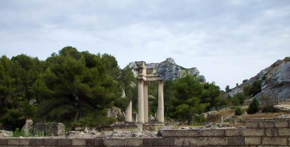 Saint Rémy de Provence : jeu de piste et archéologie au Glanum