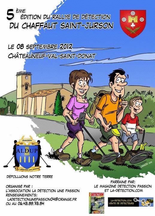 Rallye détection - Alpes-de-Haute-Provence
