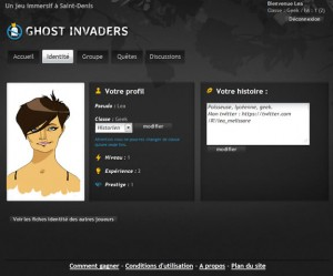 Ghost Invaders - Identité