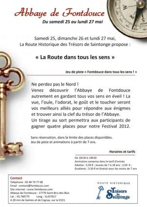 Abbaye de Fontdouce - Jeu de piste