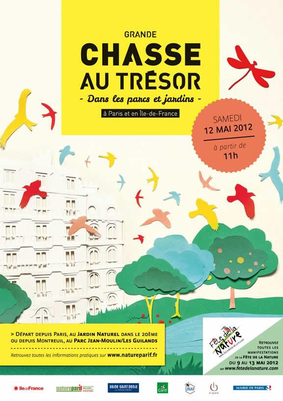 Chasse au trésor à Paris et en Seine Saint Denis : la ville rêvée de Victor Nitolaug