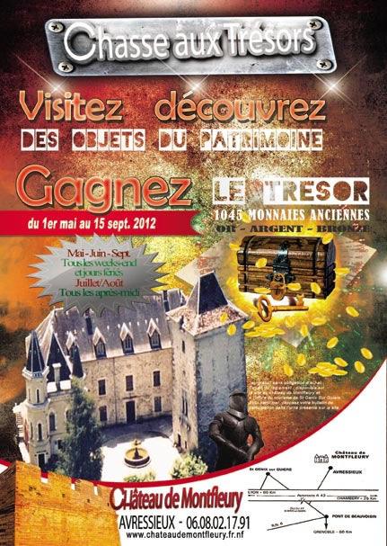 Gagnez 1045 monnaies anciennes en or, argent et bronze ! Chateau de Montfleury