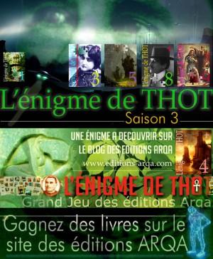 Enigme de Thot - Saison 3