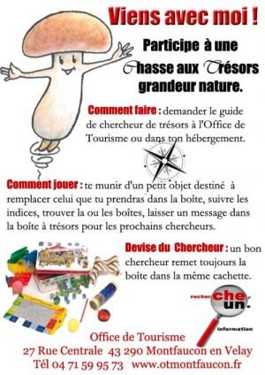 Chasse aux trésors participative - Montfaucon