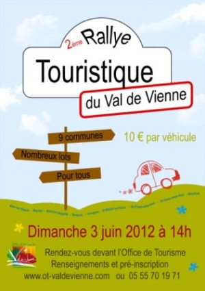 2ème Rallye touristique en Val de Vienne