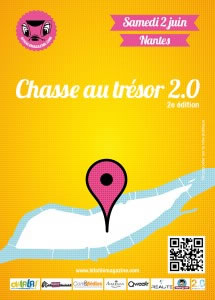 Nantes : chasse au trésor 2.0