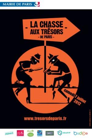 Chasse aux Trésors de Paris 2012