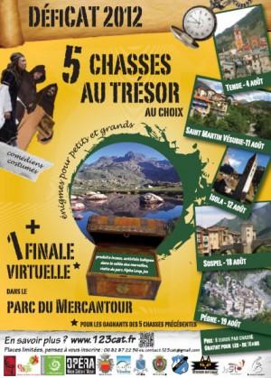 DéfiCAT 2012 - 5 chasses au trésor et une finale virtuelle