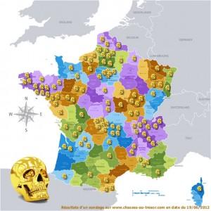 Les 12 énigmes de Dalmas - France - Sondage