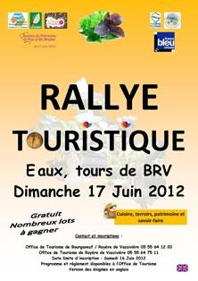 Rallye touristique : cuisine, patrimoine, terroirs et savoir-faire