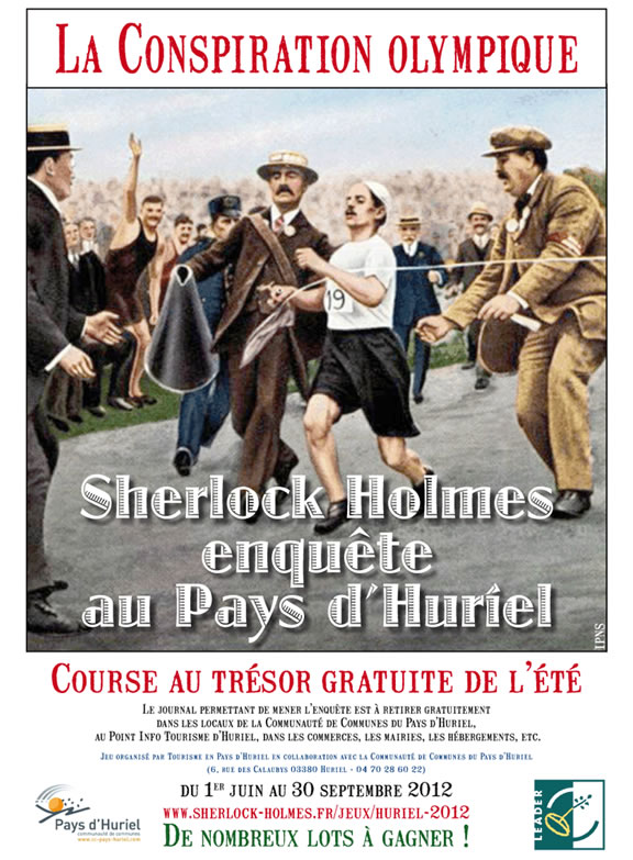 Sherlock Holmes et la conspiration olympique