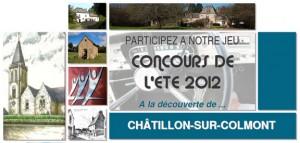 Jeu concours à Châtillon-sur-Colmont