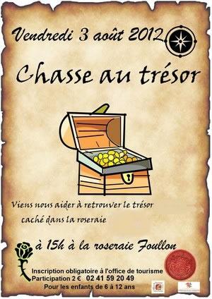 Doué-la-Fontaine : chasse au trésor