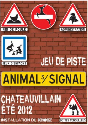 Animal sur Signal - Chateauvillain