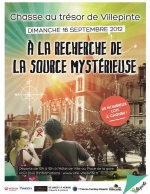 A la recherche de la source mysterieuse - Chasse au trésor de Villepinte