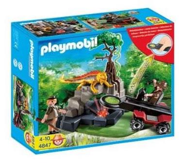 Chasseurs de trésors - Playmobil