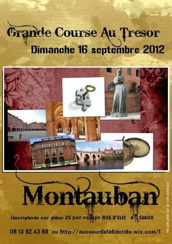 Course au trésor à Montauban