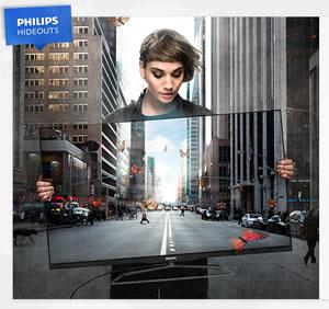 Philips Hideouts - Chasse aux téléviseurs
