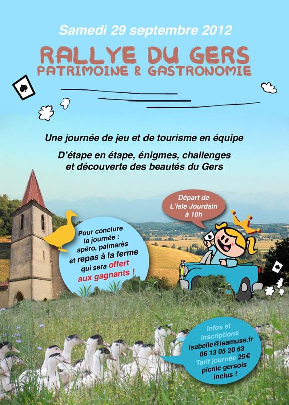 Rallye du Gers : Patrimoine & Gastronomie
