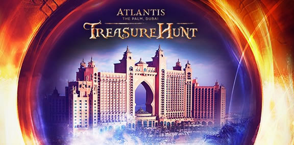 Atlantis The Palm Dubai Treasure Hunt